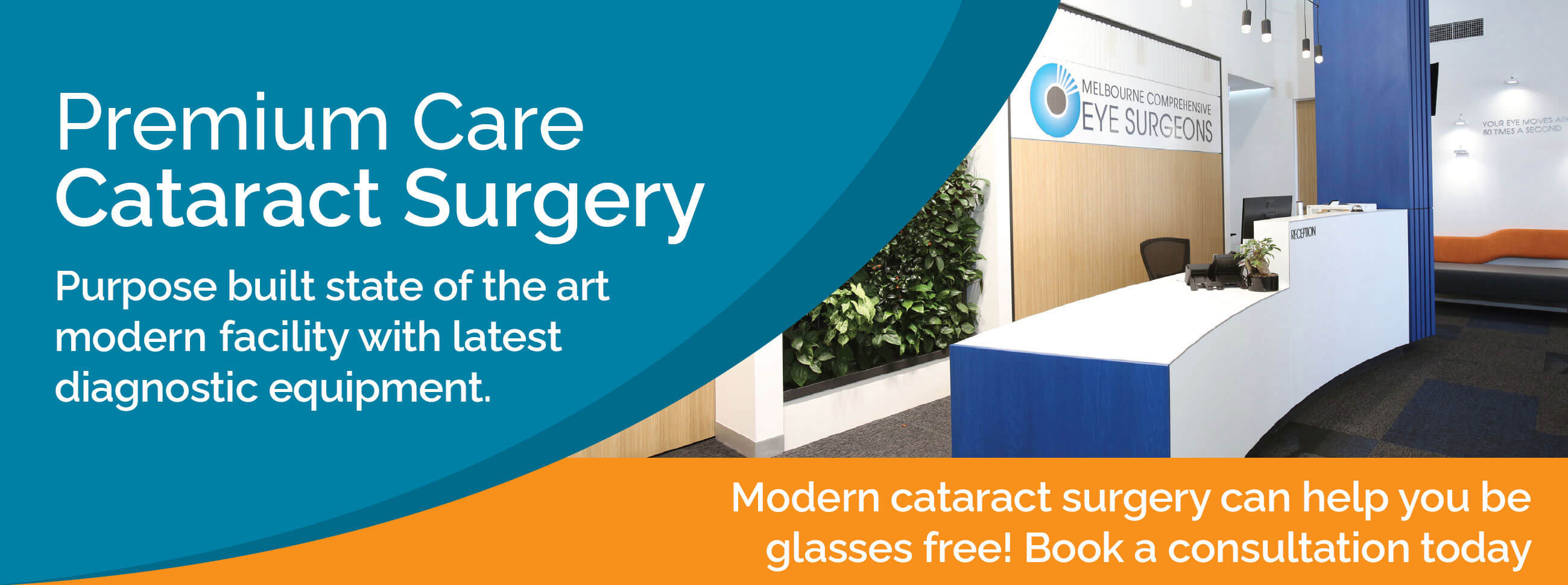 Eye Care Clinic - Melbourne Comprehensive Eye Surgeons - MCES